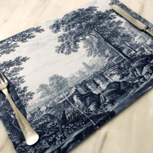 Delft Paper Placemats