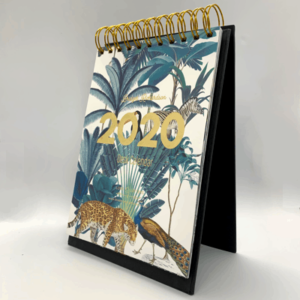 personalised desk calendar jungle