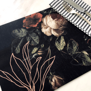 Botanical placemats